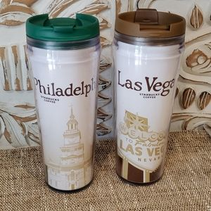 Starbucks City Travel Mugs